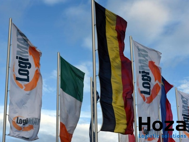 Hoza Logistic solutions on the 17th edition of the LogiMAT